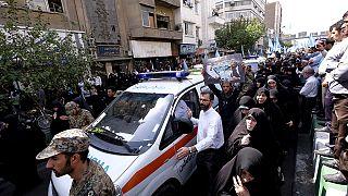 برگزاری مراسم تشییع اجساد بیش از یکصد زائر ایرانی کشته شده در واقعه منا