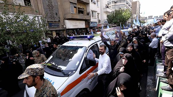 Irán entierra a sus muertos de la tragedia en La Meca