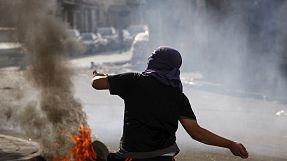Violentos disturbios en varios puntos de Jerusalén Este y Cisjordania