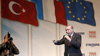 Erdogan à Strasbourg et Bruxelles pour séduire la diaspora turque