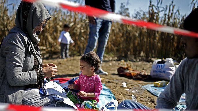 تدفق اللاجئين الى أوروبا عبر كرواتيا