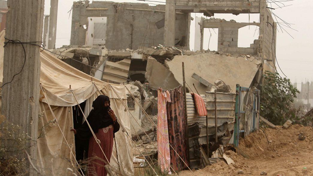 غارة إسرائيلية على قطاع غزة ومقتل فتى فلسطيني برصاص الجيش الإسرائيلي في طولكرم