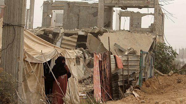 Israel bombardea un objetivo militar en Gaza