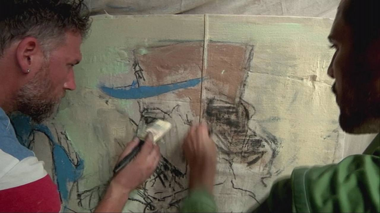Kurtis Ceppetelli y Matthew Malone, dos artistas estadounidenses en La Habana