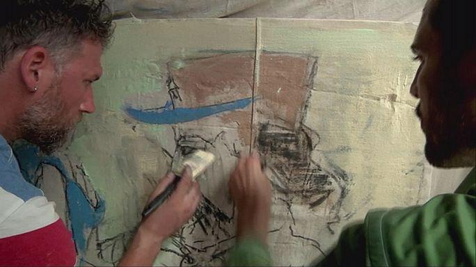 تجربة رسم ثنائي لفنانين أمريكين في كوبا