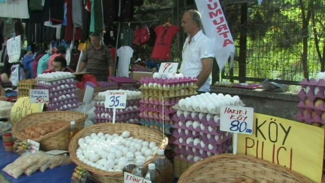 La inflación en Turquía roza el 8% y el banco central podría volver a subir los tipos