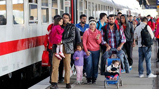 Allemagne : 1,5 million de migrants avant la fin de l'année ?