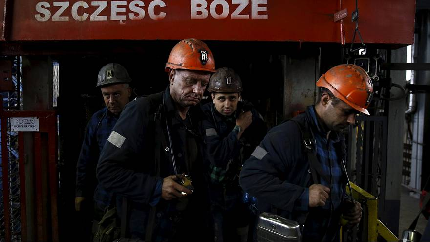 Polish miners stage strike over fears of pit closures