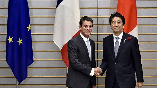 Nuclear energy on agenda during French PM's trip to Japan