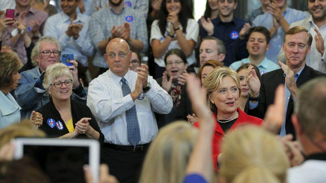 Hillary Clinton promete enfrentarse al lobby de las armas en EEUU si llega a la Casa Blanca