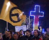 PEGIDA rallies against refugees in Dresden