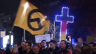 Almanya'da sığınmacılar aleyhine gösteri