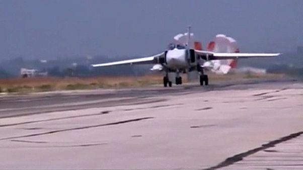 ادامه حملات هوایی روسیه در سوریه و انتقاد ناتو به نقض حریم هوایی ترکیه