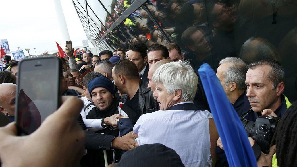 Frankreich: Schock und Empörung nach Gewalt gegen Ai-France-Manager