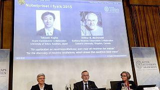 فوز ياباني وكندي بجائزة نوبل للفيزياء لعام 2015