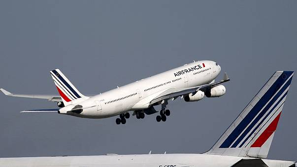 Air France im Sinkflug