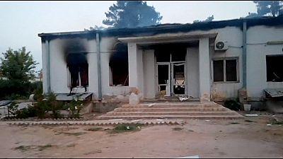 Médicos sin fronteras califica de crimen de guerra el bombardeo de su hospital en Afganistán