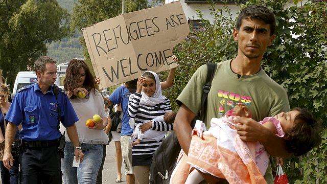 زيارة يورونيوز لمخيم لاجئين في المانيا و مقابلة مع مفوض مجلس اوروبا لحقوق الإنسان