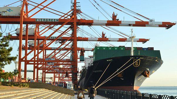 Image: Aomi international container terminal