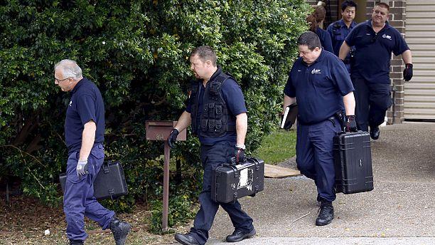 'Terrorism' arrests in Australia over murder of police employee