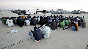 People traffickers face tougher EU naval action in Med