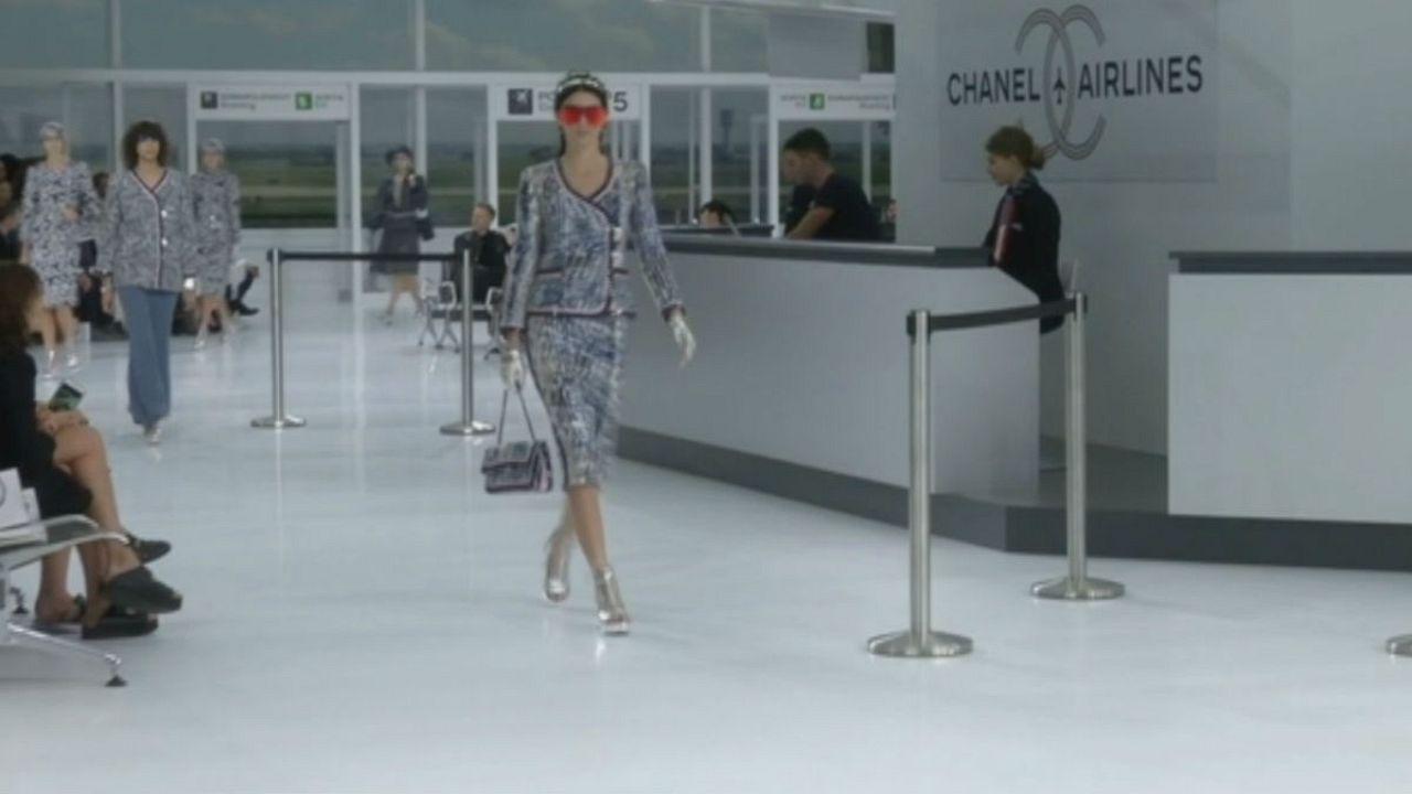 هفته مُد پاریس؛ مجموعه لباسهای جدید شانل با موضوع فرودگاه