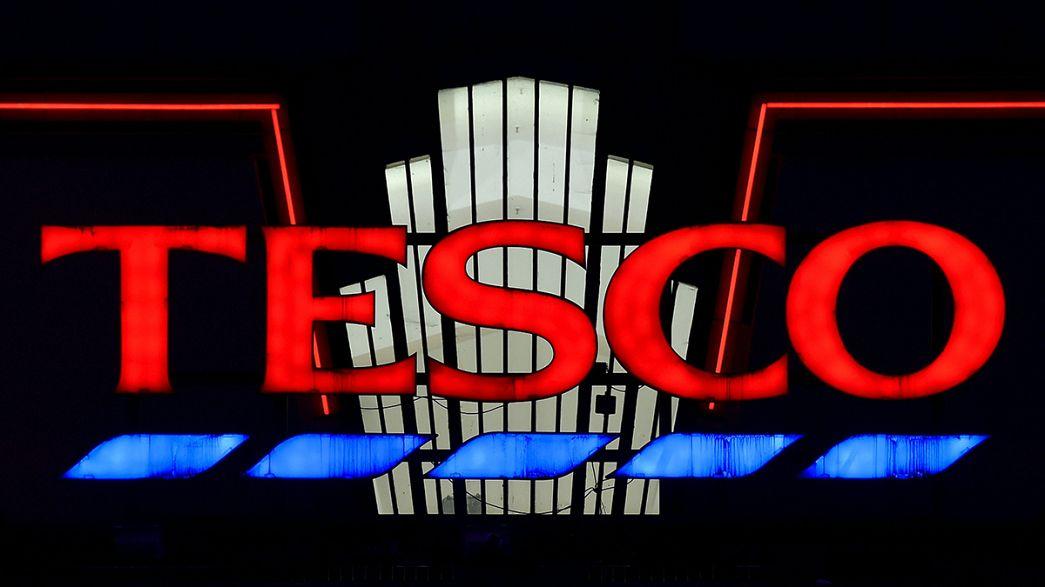 Les bénéfices de Tesco ont chuté au premier semestre