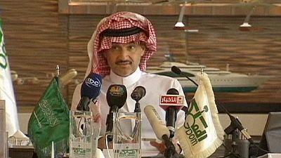 Saudita Bin Talal aumenta participação no Twitter