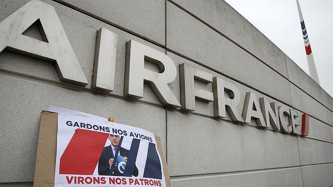 A francia kormány az Air France menedzsmentjét támogatja