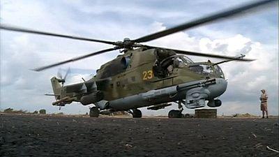 Russen greifen Terrormiliz IS vom Kaspischen Meer aus an