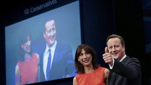 Cameron carga contra la UE y Corbyn en la conferencia anual de su partido