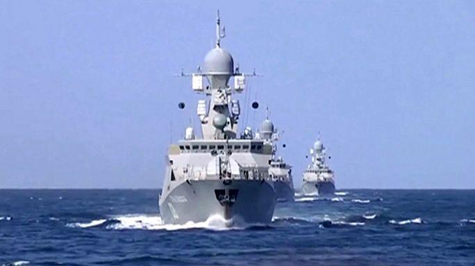 Les forces navales russes participent à l'opération en Syrie