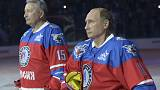 Aniversário de Putin no gelo