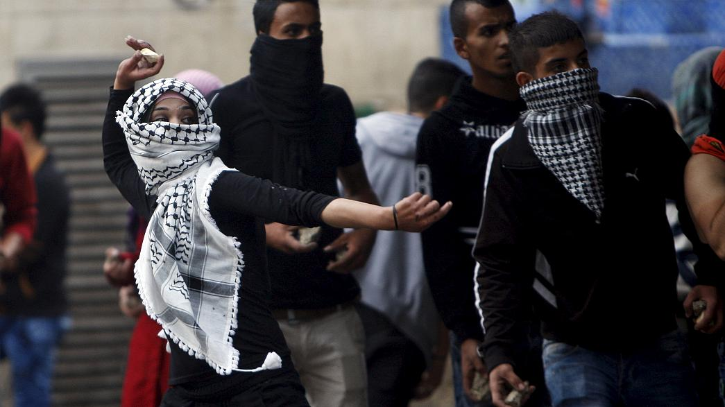 Los choques entre fuerzas israelíes y palestinos se recrudecen en Israel y Cisjordania