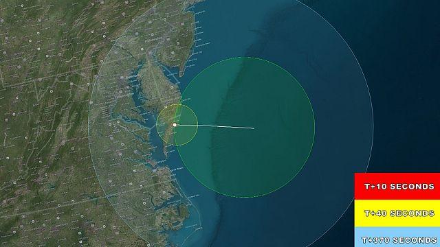 Virginia: NASA-Höhenforschungsrakete erfolgreich abgehoben