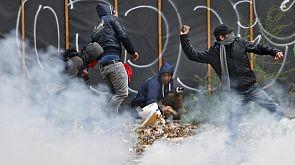 Belgio: centomila in piazza contro l'austerity, 14 arresti