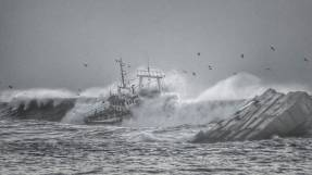 Haunting photos capture horror of Portuguese shipwreck