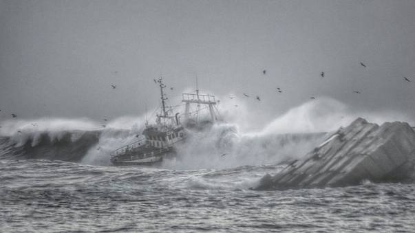 [Photos] Portugal : cruel naufrage d'un chalutier