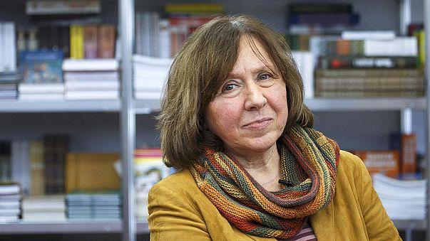 Belarusian journalist Svetlana Alexeivich wins Nobel Prize in Literature
