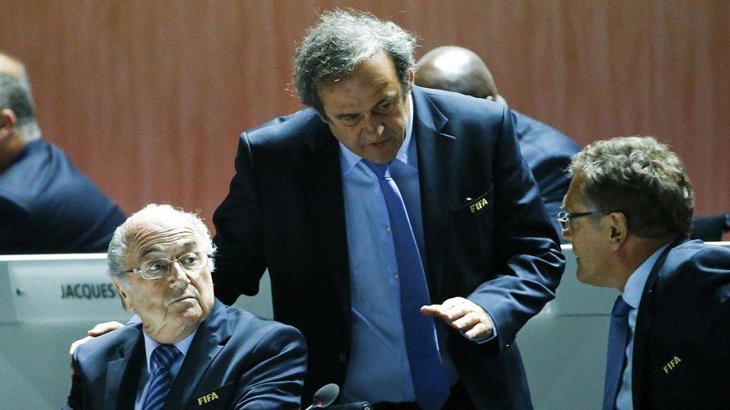 El Comité de Ética de la FIFA suspende durante 90 días a Blatter, Platini y Valcke