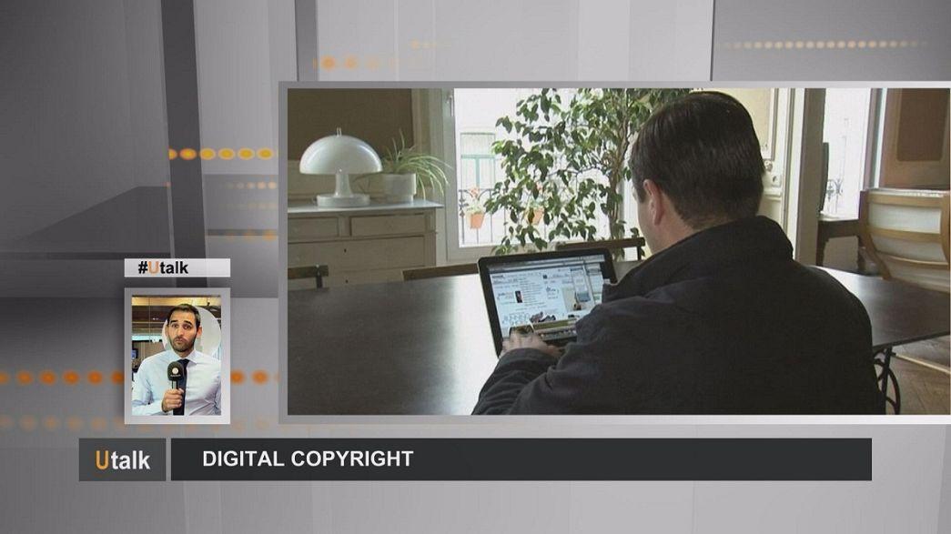 حقوق الطبع والنشر الرقمية