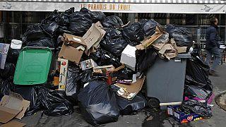 اعتصاب رفتگران و بحران زباله در پاریس