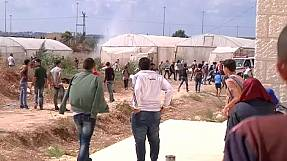 Clashes erupt between Palestinians and Israeli soldiers in Tulkarm