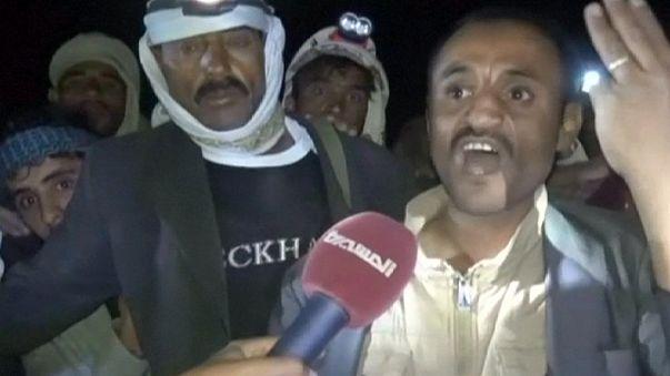 Ismét egy násznépet találtak el a szaúdi gépek Jemenben
