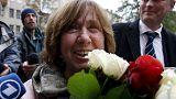 Svetlana Aleksievitch diz que o Nobel da Literatura premeia também a Bielorrússia
