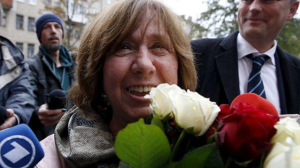 Auszeichnung für eine unbequeme Autorin: Swetlana Alexijewitsch erhält Nobelpreis
