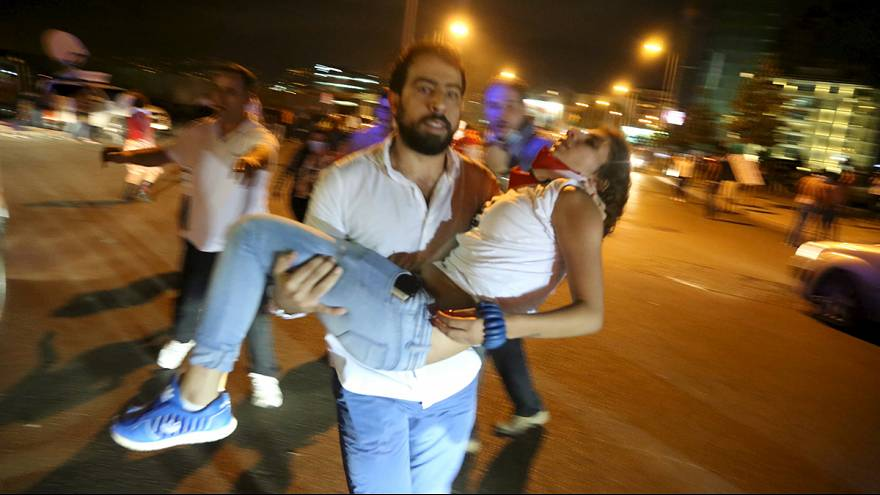 Security forces in Beirut fire tear gas and water canon on protesters