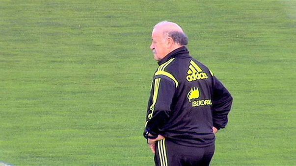La selección española busca sellar su pase a la Eurocopa