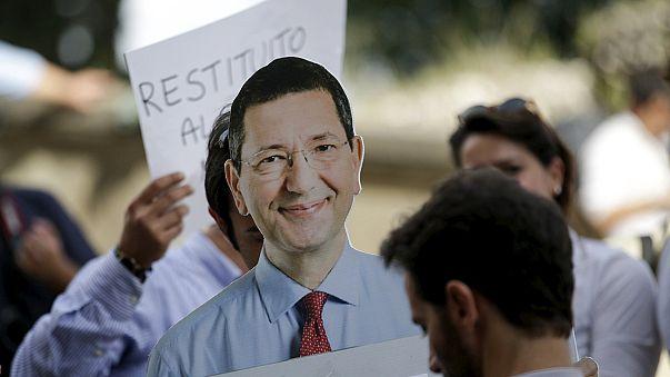 عمدة روما يستقيل بسبب شبهات فساد