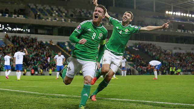 يورو 2016: إيرلندا تهزم ألمانيا... و اليونان تنهزم أمام إيرلندا الشمالية